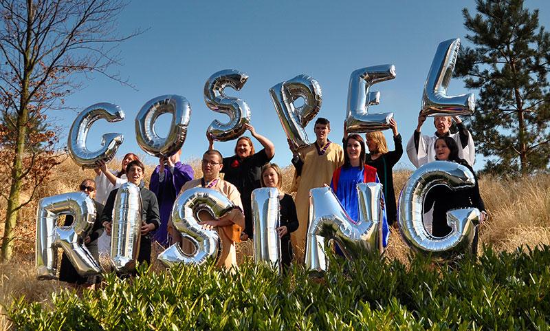 Gospel Rising festival crew