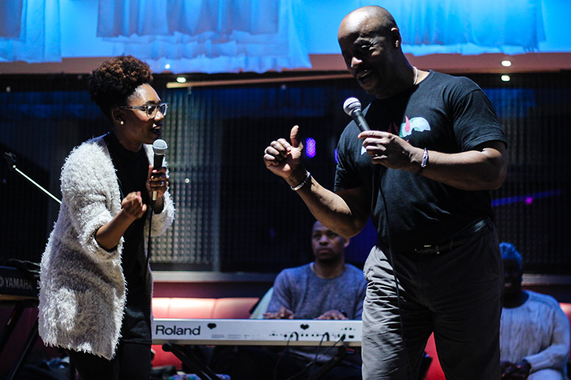 Sharlene Monique & Bazil Meade at Gospel Rising
