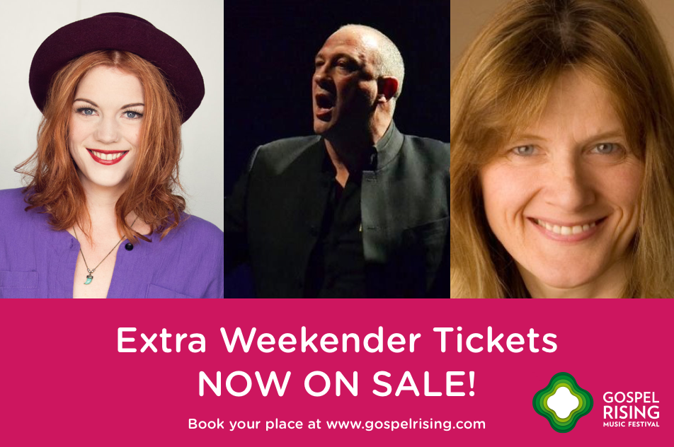 Extra weekend tickets available
