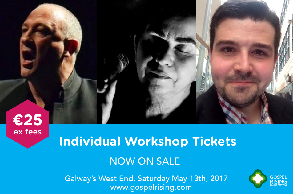 Individual workshop tickets now on sale for €25