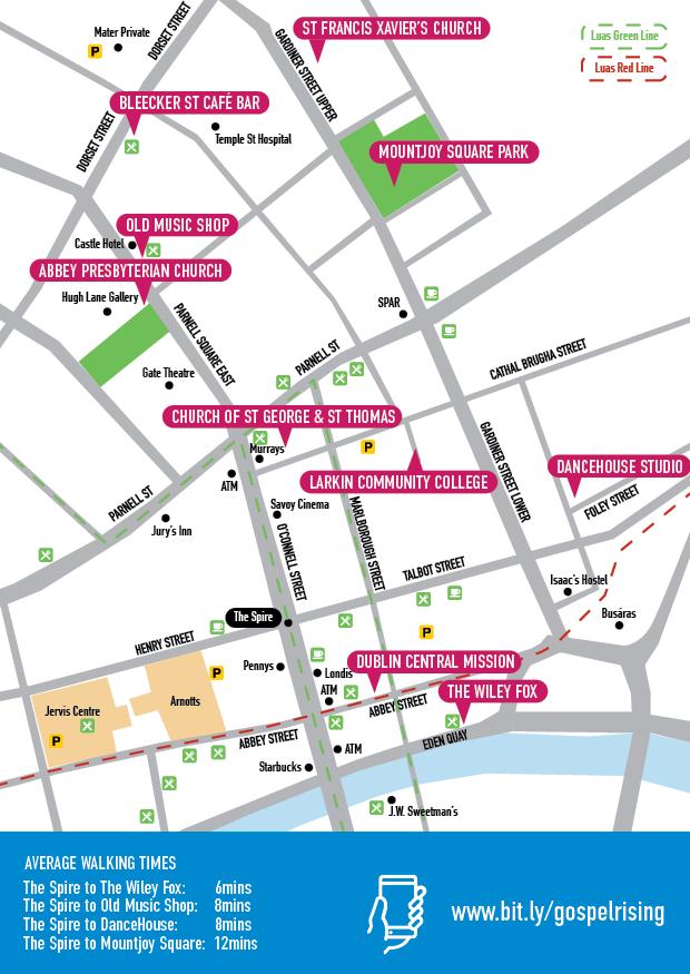 2019 venue map