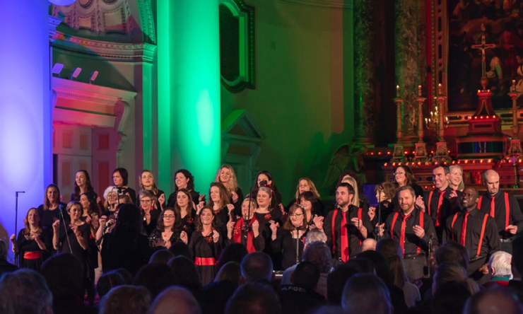 Choral concert at Gardiner Street church